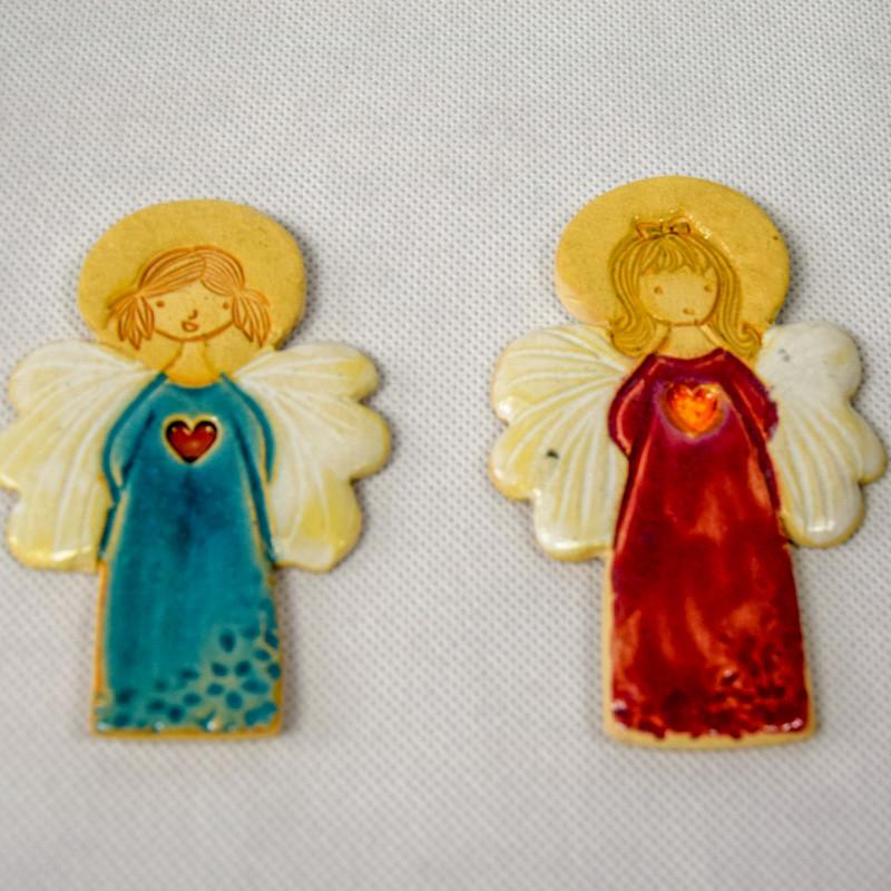 Aniołek Ceramiczny - Boże narodzenie, I Komunia