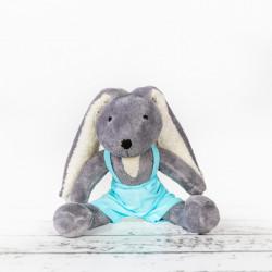 Ręcznie wykonana przytulanka - królik Leoś