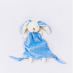 Ręcznie wykonany królik - kocyk, przytulanka