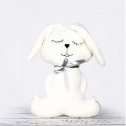 Ręcznie wykonany króliczek pluszowy