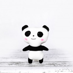 Ręcznie wykonana maskotka panda